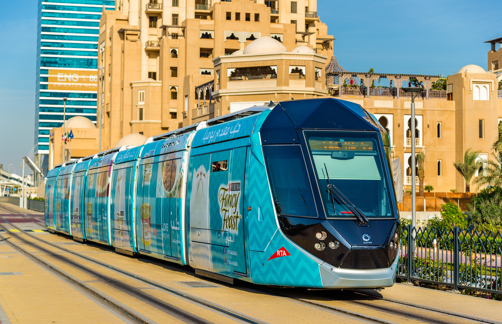 A photo of Palm Monorail at daylight in Dubai