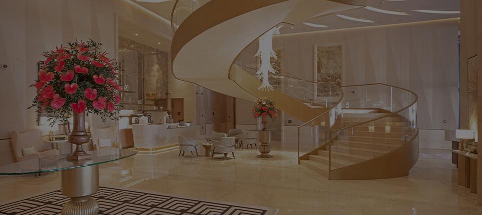 St Regis hotel in Palm Monorail